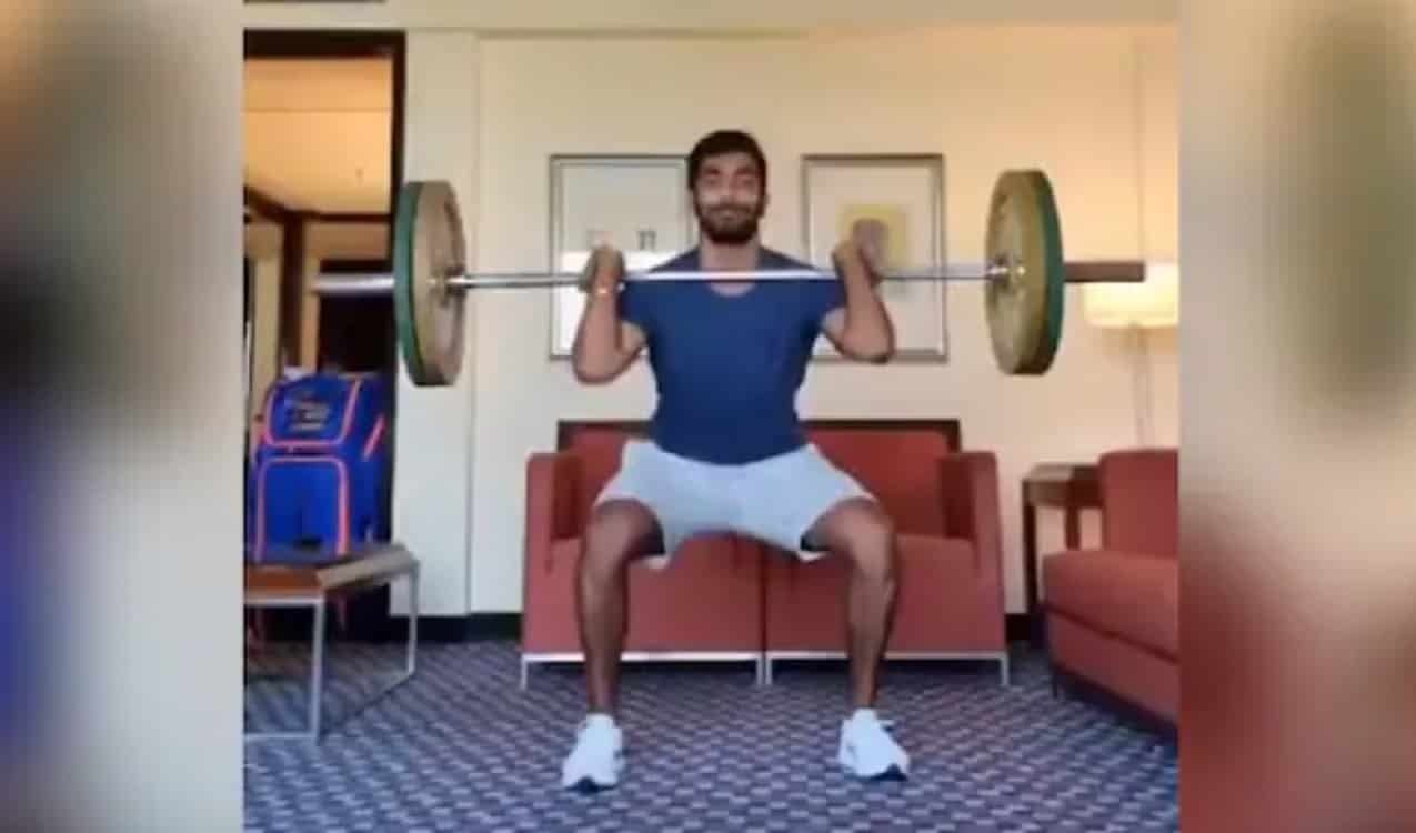 Cricket Image for Jasprit Bumrah 'Getting Those Reps' After Returning From Wedding Break