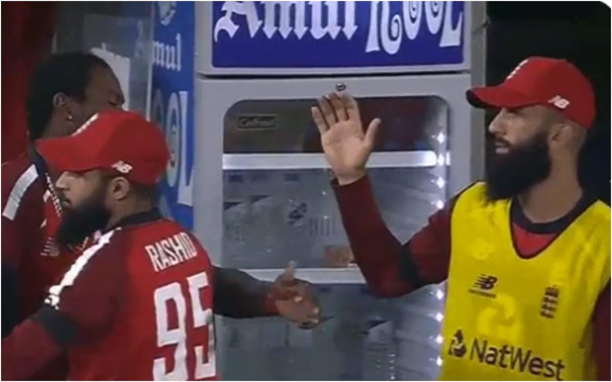 Cricket Image for VIDEO : जोफ्रा आर्चर ने की अपने ही साथी मोईन अली की बेइज्जती, वीडियो देखकर नहीं रो