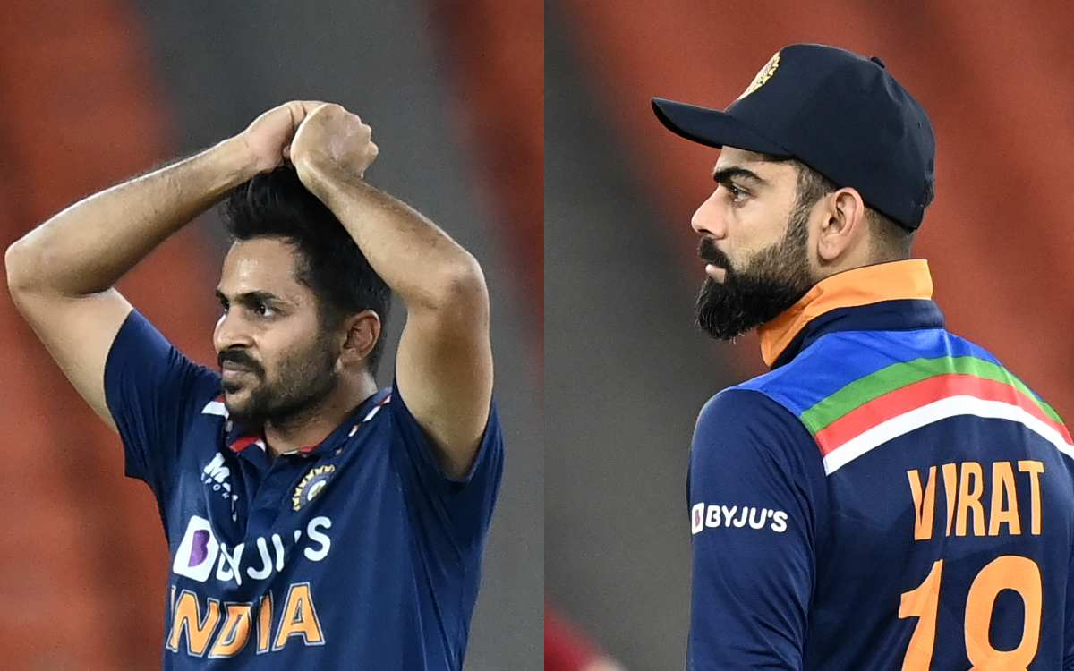 Cricket Image for Kohli Remembers 'Ben Stokes' After Shardul Thakur's Lazy Fielding Against England