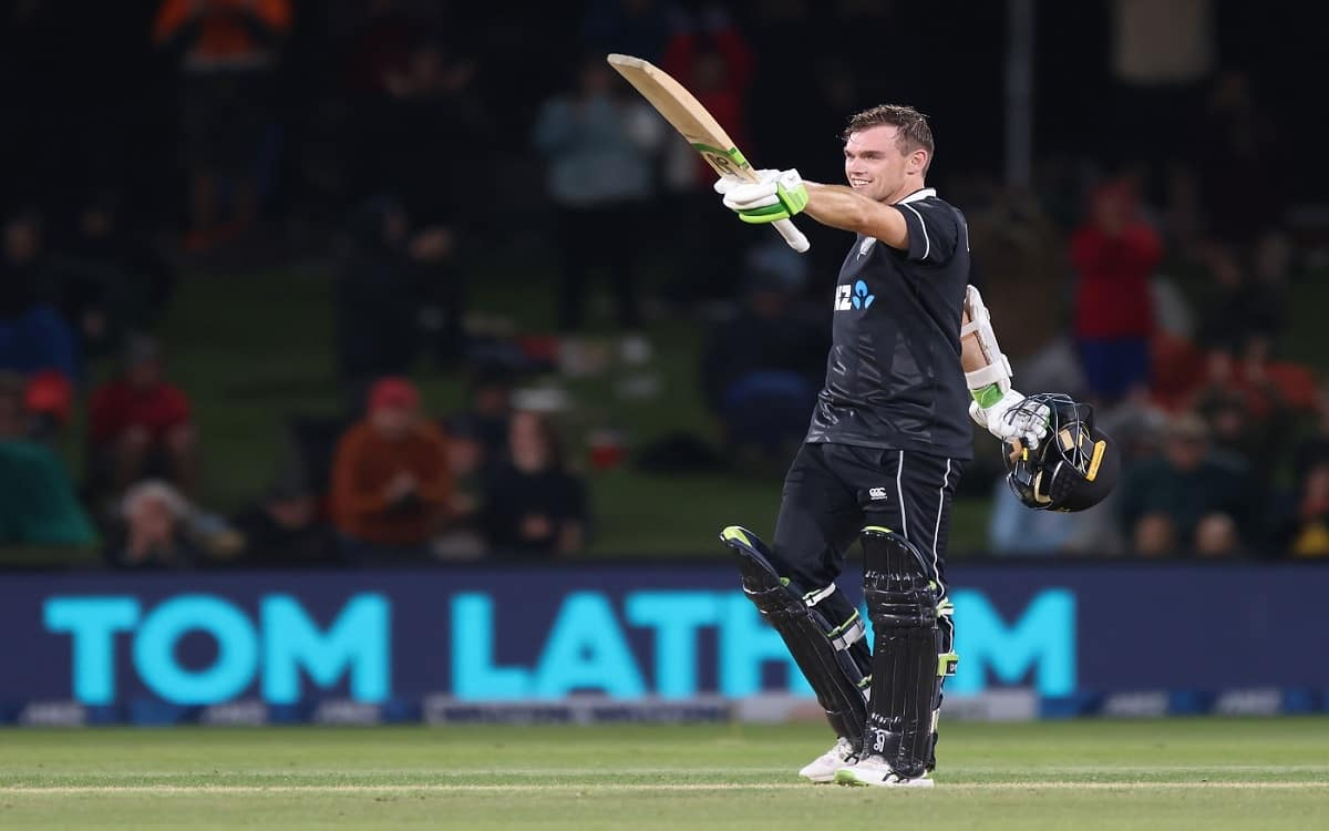 Cricket Image for New Zealand Beat Bangladesh By 5 Wickets With Tom Lathams Century