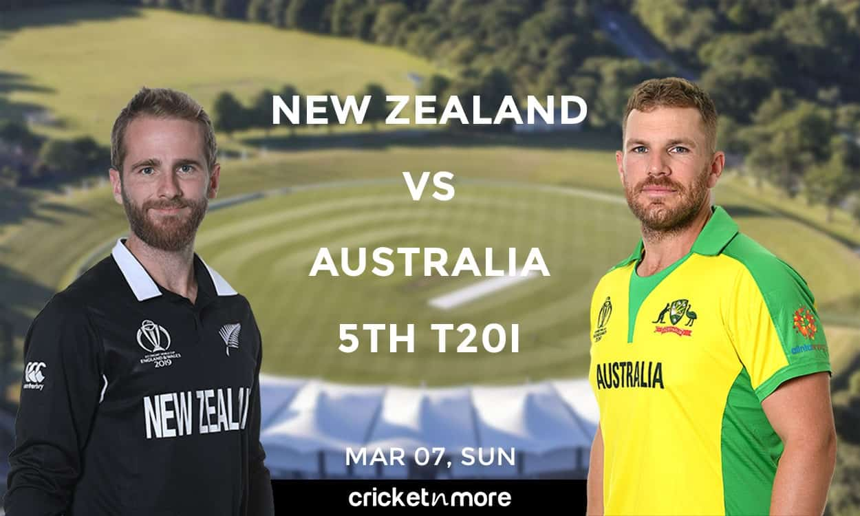 Cricket Image for NZ vs AUS, 5th T20I – Fantasy Cricket XI Tips, Prediction & Probable Playing XI