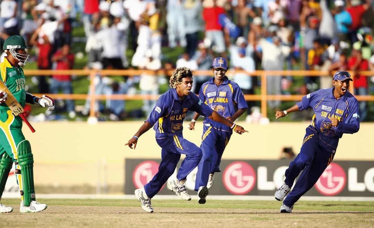 Cricket Image for On This Day 14 Years Ago, Lasith Malinga Took 4 Wickets In 4 Balls Against South A