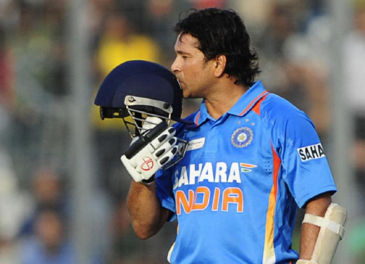 Cricket Image for On This Day: Sachin Tendulkar Scored His 100th International Century