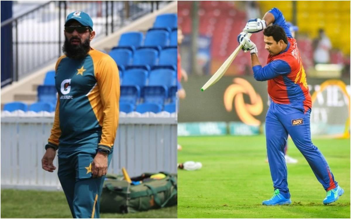 Cricket Image for 112 KG के खिलाड़ी को लेकर मिस्बाह और बाबर हुए परेशान, 4 साल बाद हुई पाकिस्तानी टीम