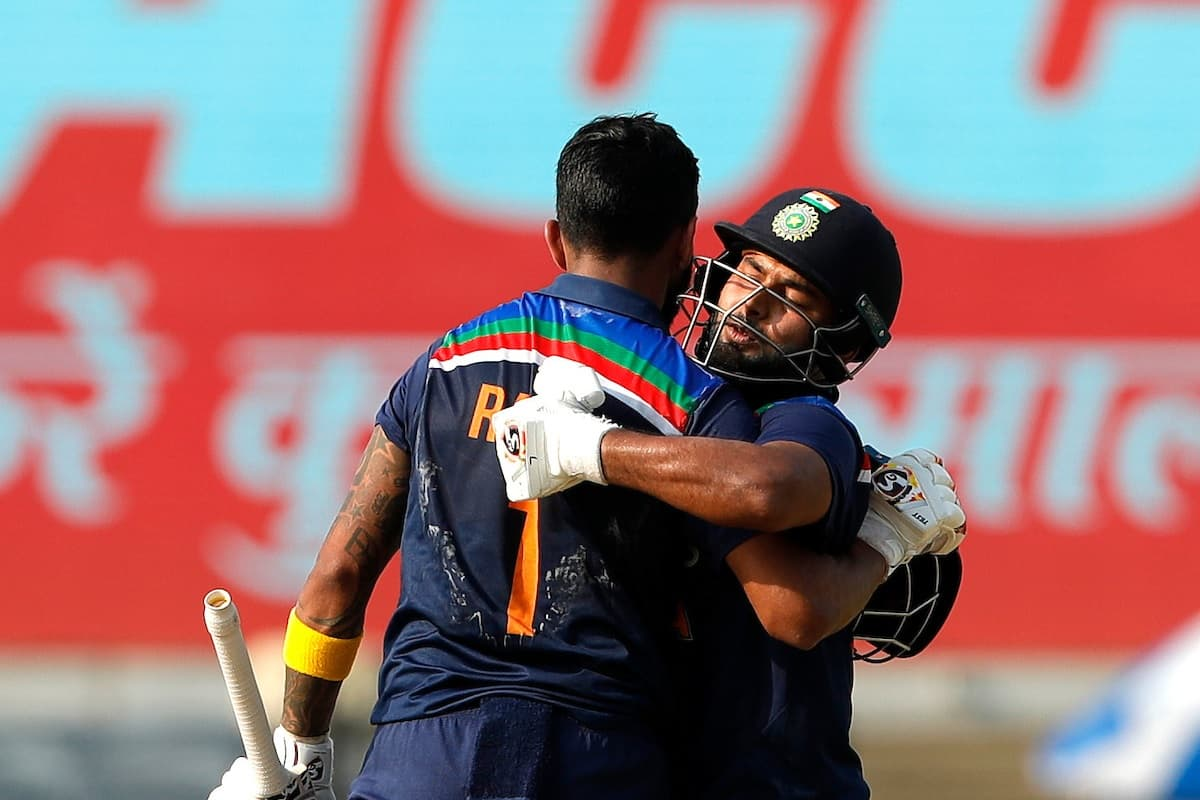 Cricket Image for 2nd ODI: Pant, Rahul Power India To 336/6 Against England In First Innings