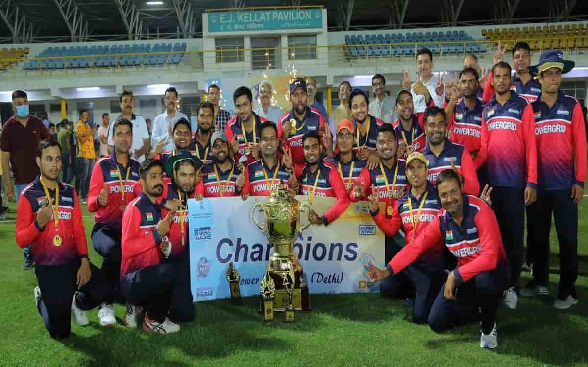 Cricket Image for Powergrid Became The Winner Of The Power Cup T20