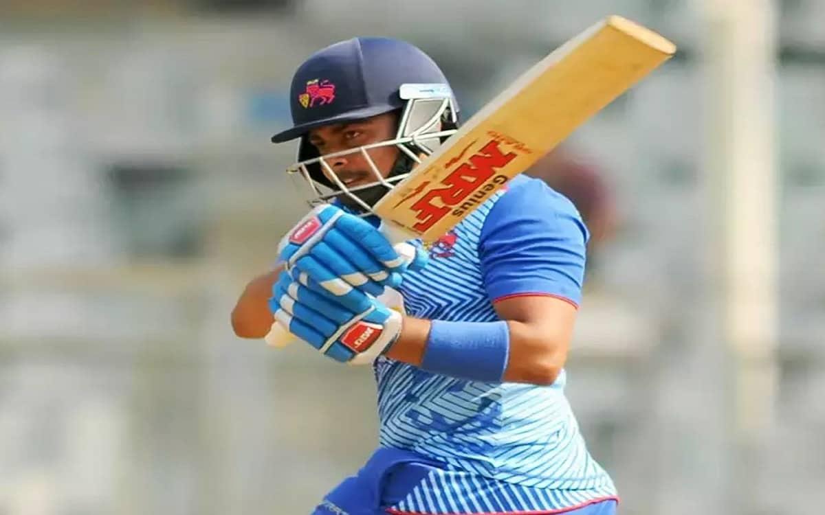 Cricket Image for Prithvi Shaws Innings Of 165 Runs Help Mumbai To Reach Final At Vijay Hazare Troph