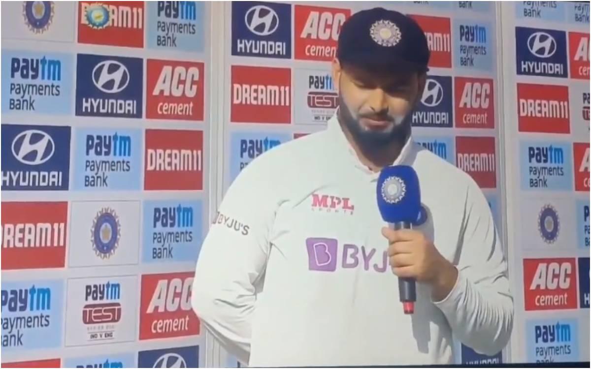 Cricket Image for VIDEO : 'आपको प्रॉब्लम हो रहा है तो आप थोड़ा इम्प्रूव करो सर', कमेंट्री के सवाल पर