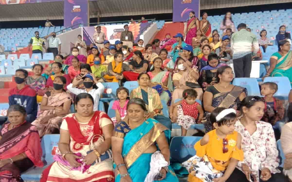 Road Safety World Series give Special gift to women on Women day by free entry to the match