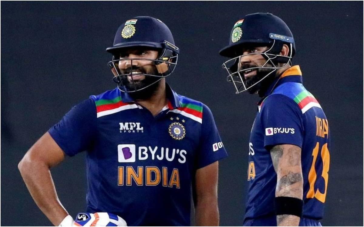 Cricket Image for VIDEO : 7 साल बाद मैदान पर उतरी रोहित विराट की जोड़ी, फिरअहमदाबाद में देखने को मिल