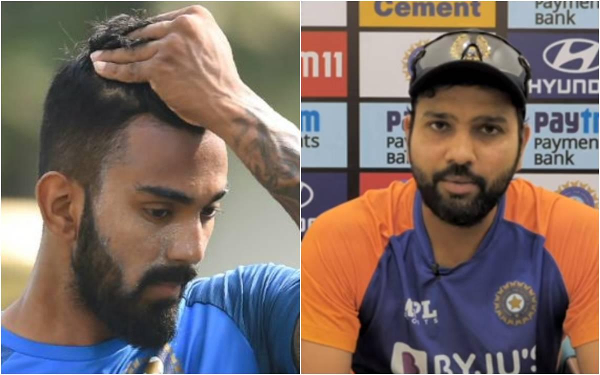 Cricket Image for क्या केएल राहुल के लिए बंद हो गए हैं टी-20 में वापसी के दरवाजे ? रोहित शर्मा ने खु