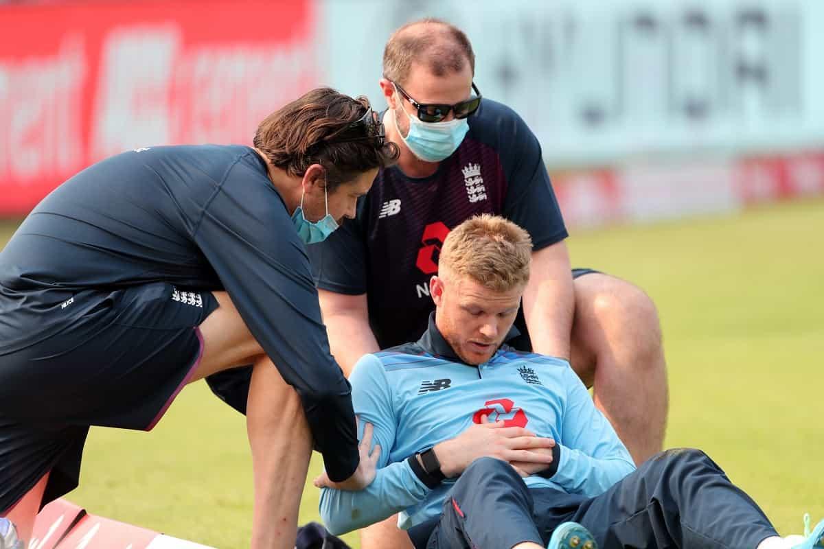 Cricket Image for Ind vs Eng: Sam Billings Sprains Collar Bone While Fielding In 1st ODI