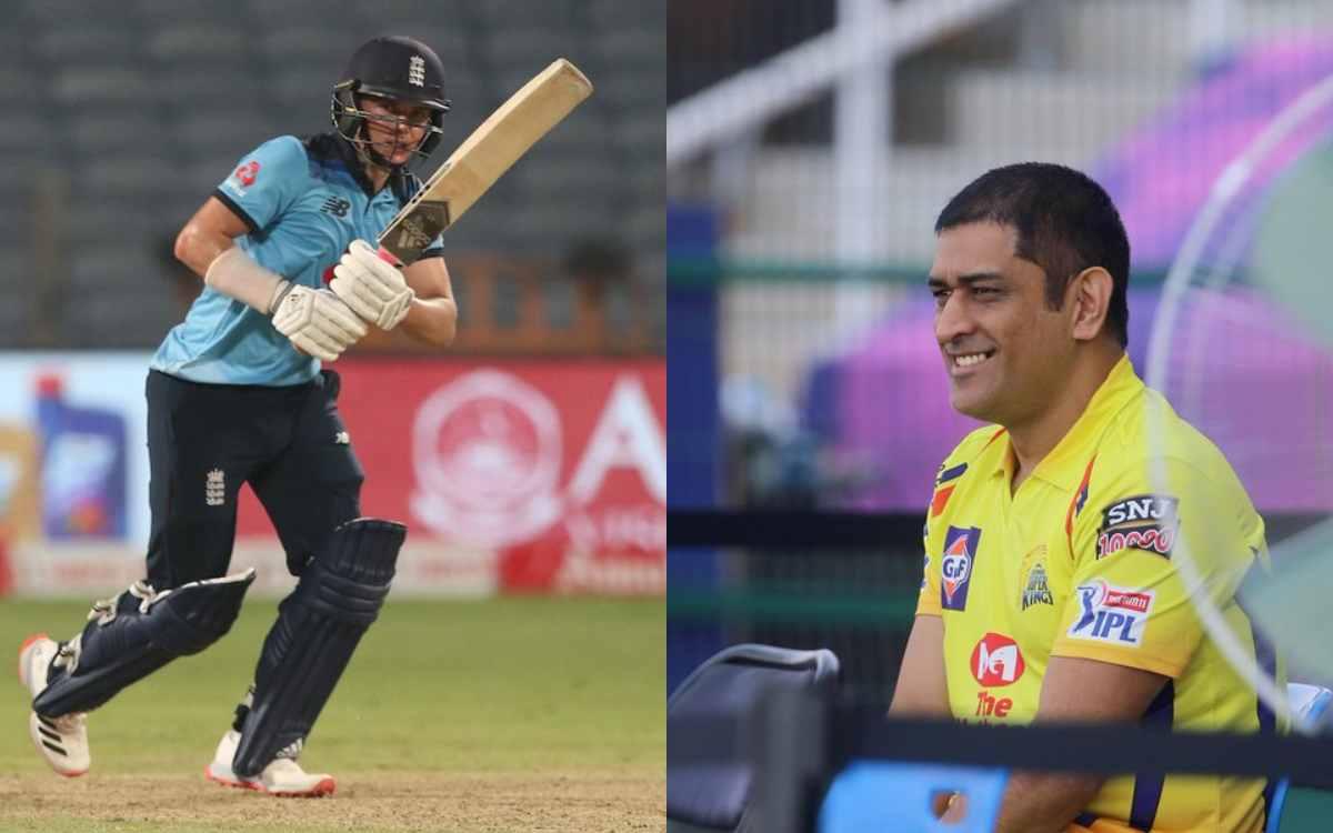 Cricket Image for आईपीएल से पहले एमएस धोनी के लिए खुशखबरी, सैम कर्रन की तूफानी पारी से चेन्नई के फैं