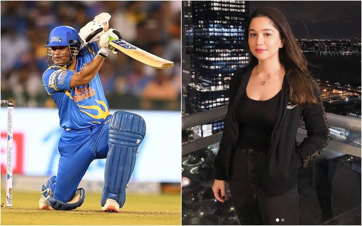 Cricket Image for सारा तेंदुलकर ने मनाया पापा सचिन तेंदुलकर की जीत का जश्न