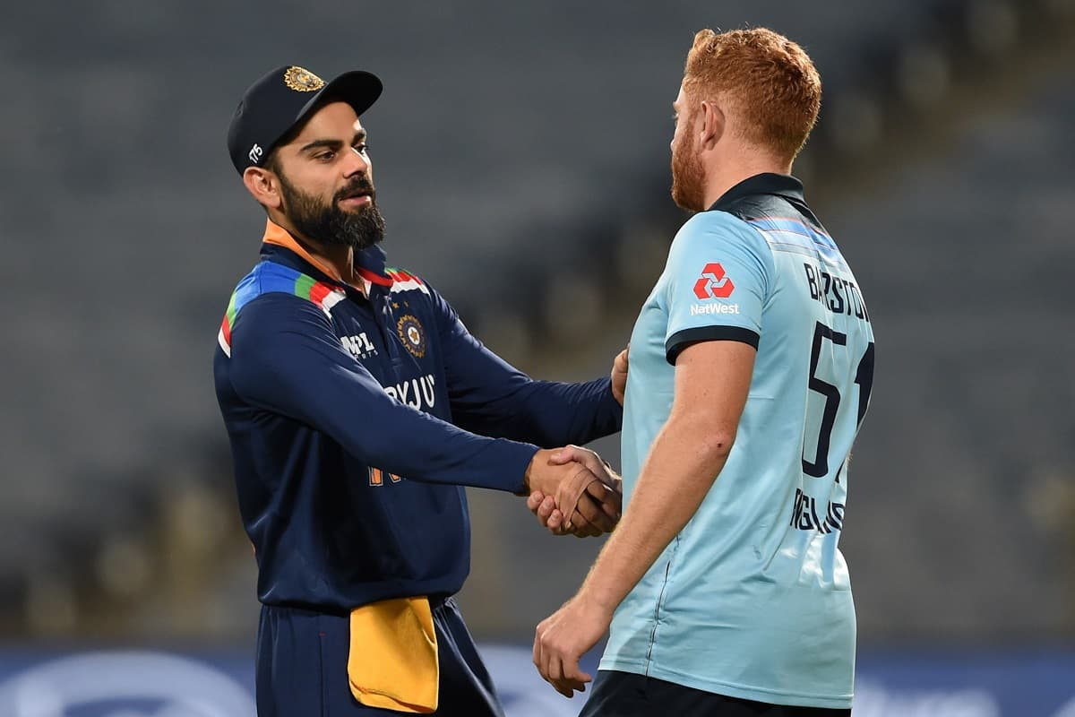 Cricket Image for 'It's Very Kind Of Him To Say That': Bairstow Acknowledges Kohli's Praise