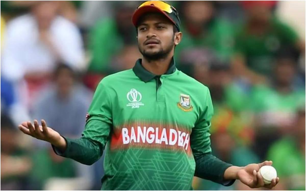 Cricket Image for 'मैंने कभी नहीं कहा कि मैं टेस्ट मैच नहीं खेलना चाहता', शाकिब अल हसन ने लगाए बांग्