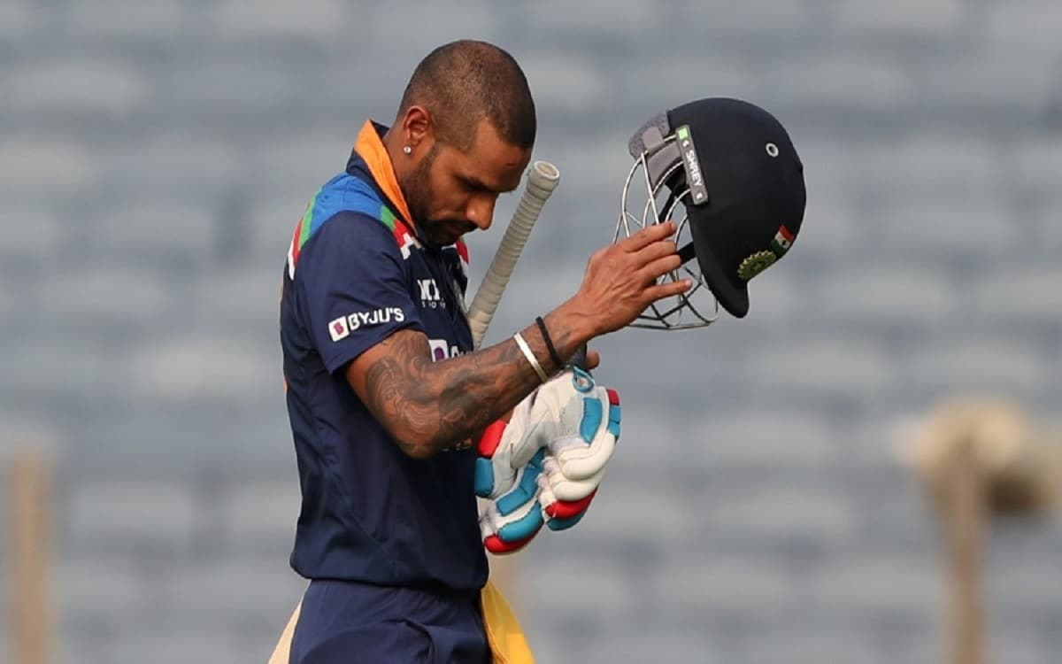 Shikhar Dhawan's century against England was incomplete by just 2 runs In one Day Match