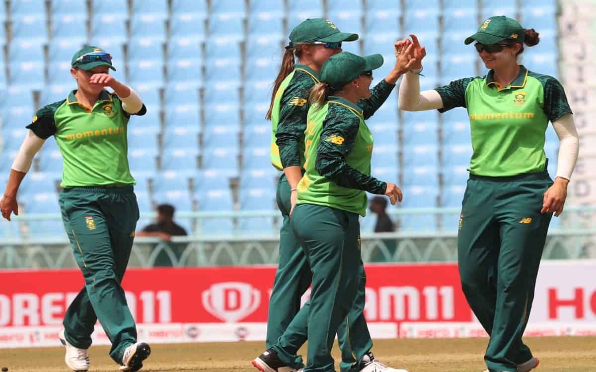 Cricket Image for IND vs SA: South African Board Lauds Women's Team On 'Double' Win Vs India