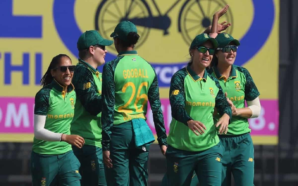 Cricket Image for South Africa Got Big Win By Beating The Indian Womens Team