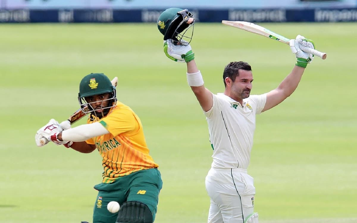 Cricket Image for South Africa Name Dean Elgar Test Captain, Temba Bavuma For Shorter Formats