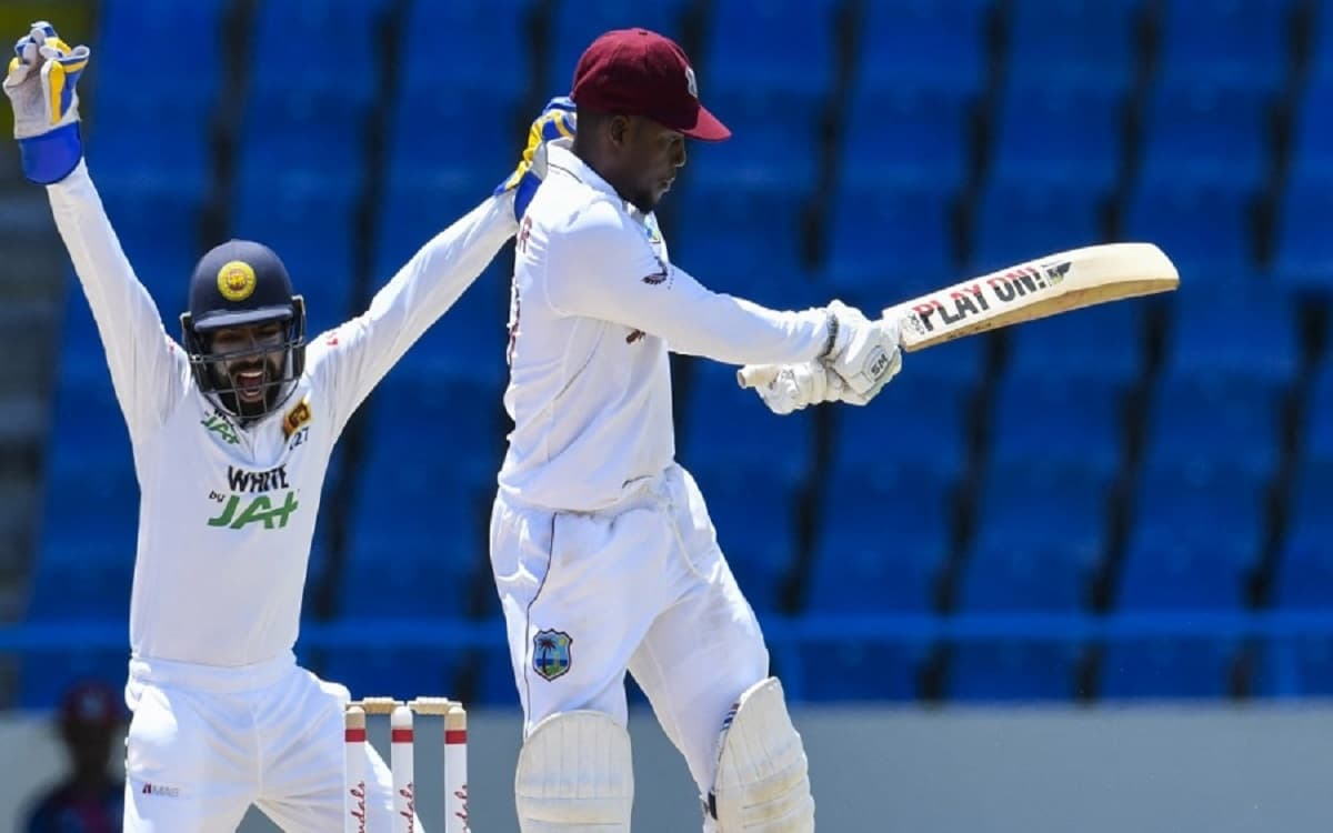Cricket Image for WI vs SL: Sri Lanka Bowlers Peg Back West Indies In First Test