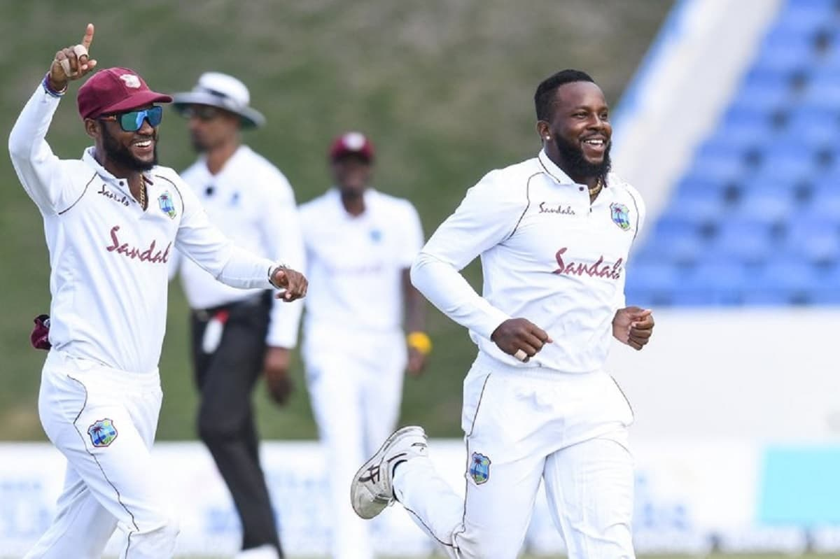 Cricket Image for 1st Test: Sri Lanka Extends Lead By 153 As Kyle Mayers' Late Strikes Give Windies