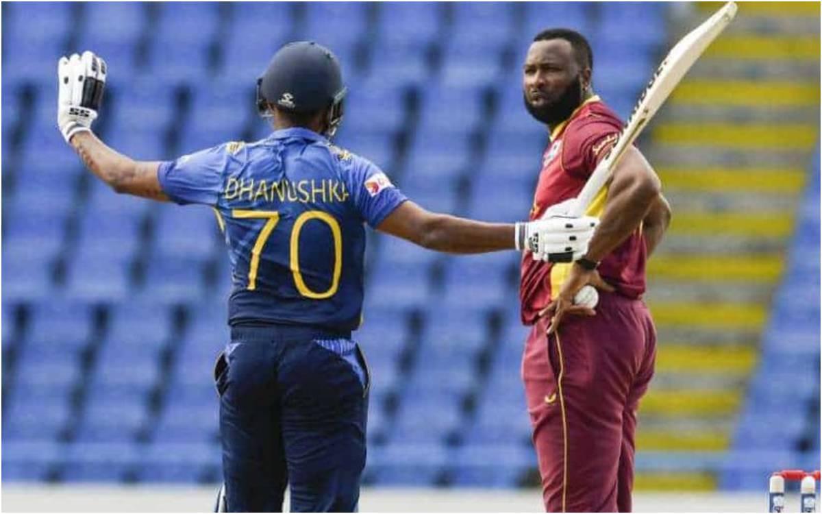 Cricket Image for VIDEO : 'इसे कहते हैं बदकिस्मती', श्रीलंकाई बल्लेबाज़ गुनाथिलका हुए अजीबोगरीब ढंग