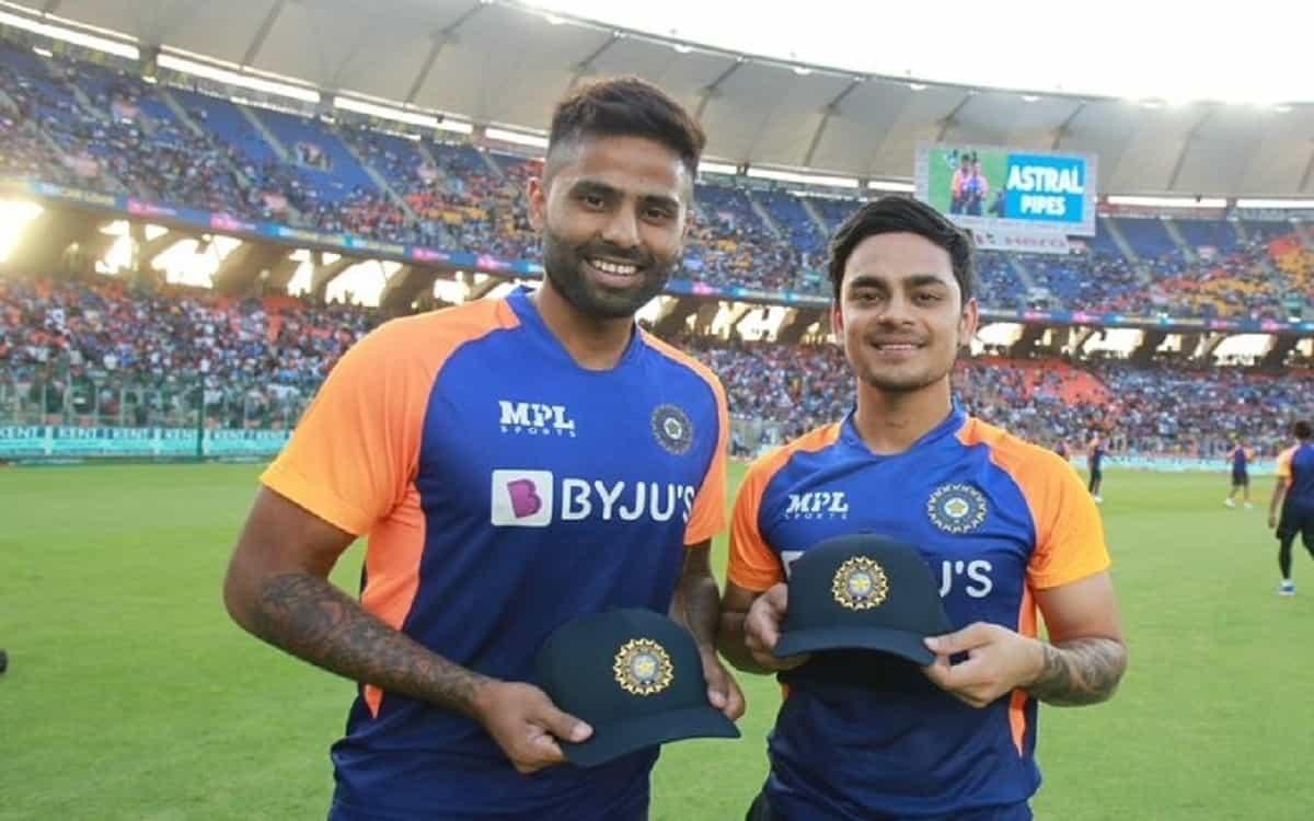 Suryakumar Yadav and Ishaan Kishan made debut in T20I for India against England