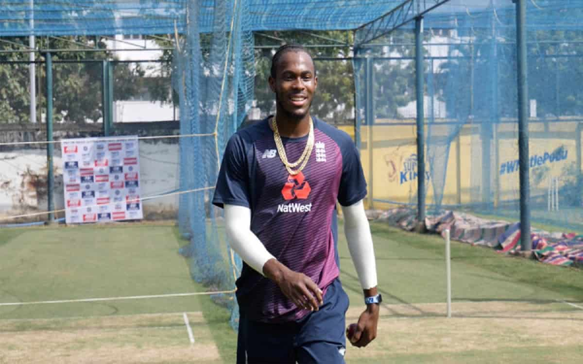 Cricket Image for Jofra Archer Can Be Out Of The Ipl 2021 Tournament Due To Elbow Injury