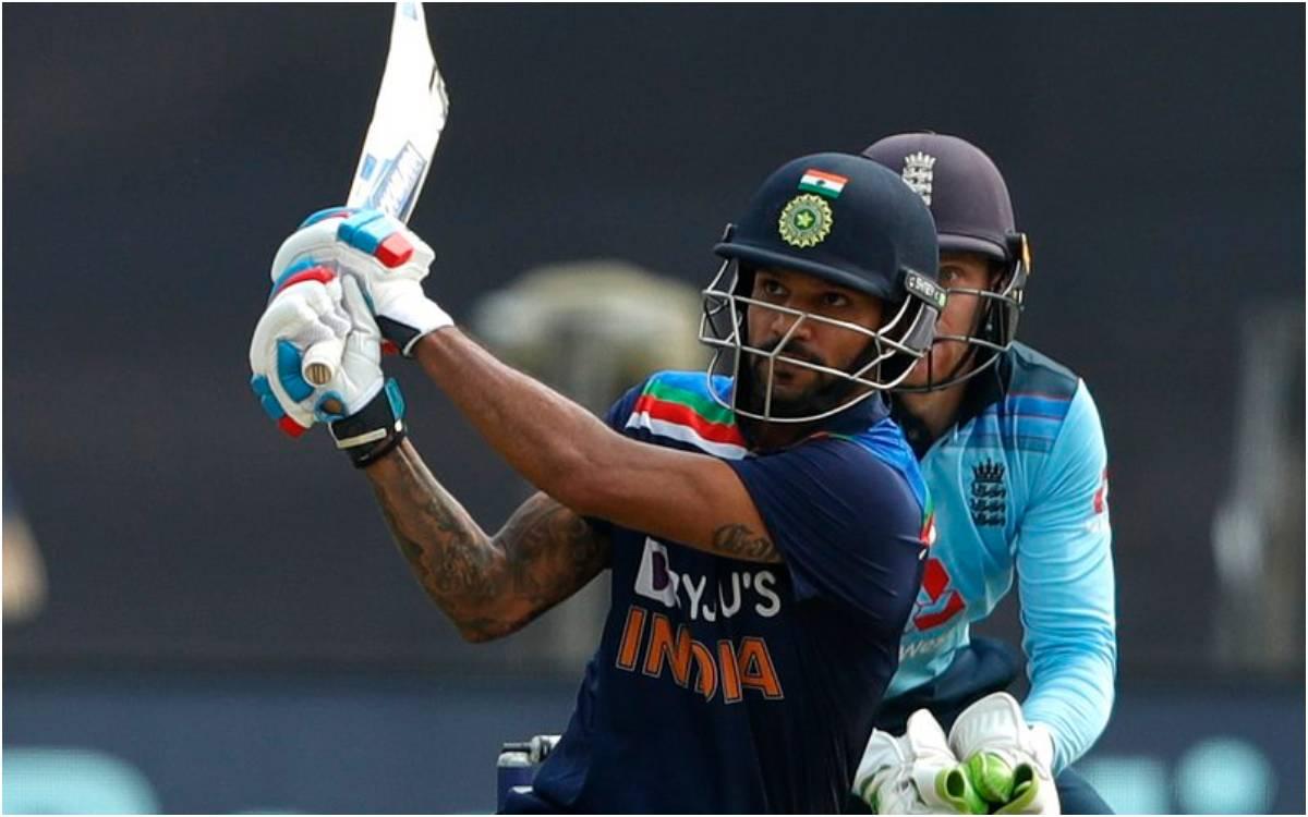 Cricket Image for 'गब्बर इज़ बैक', पहले वनडे में शतक से चूके शिखर धवन, सोशल मीडिया पर बने फैंस की आं