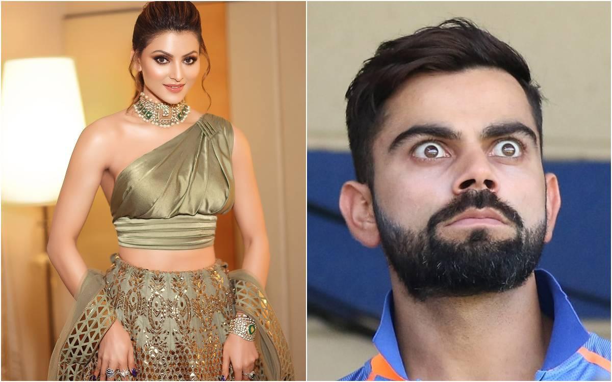 Cricket Image for उर्वशी रौतेला की मम्मी ने भेजा बेटी को सीक्रेट मैसेज, विराट कोहली की फोटो देखकर है