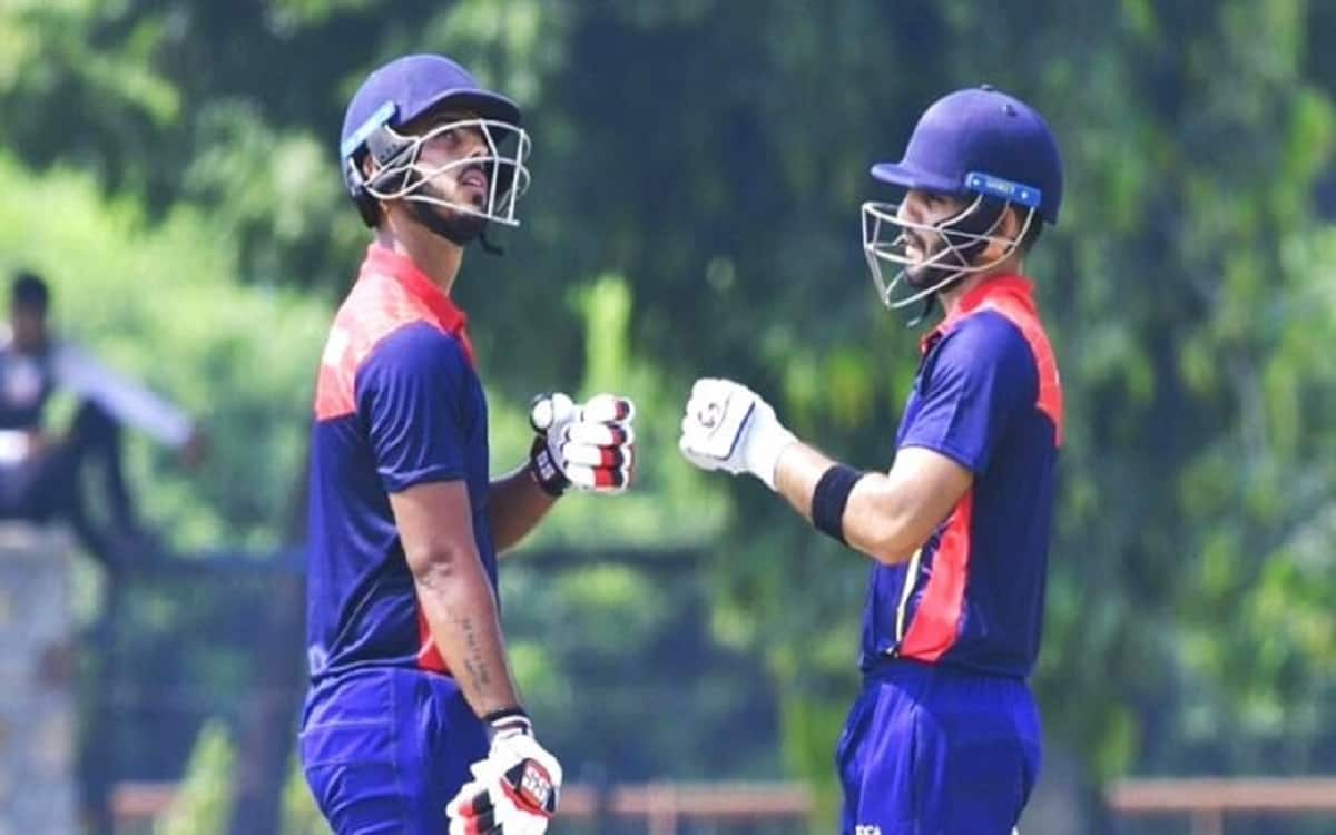 Cricket Image for Delhi Beat Uttrakhand by 4 wickets