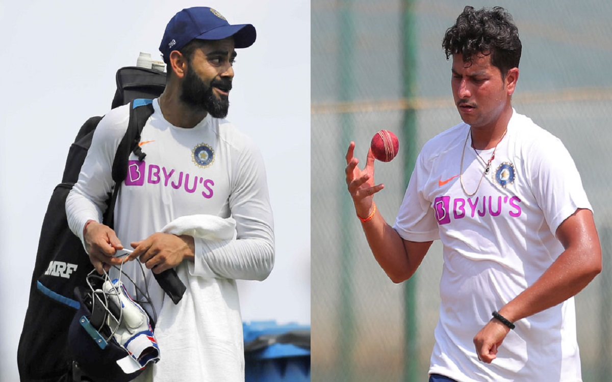 Cricket Image for Virat Kohli Talks About Why Kuldeep Yadav Is Not Getting Much Game