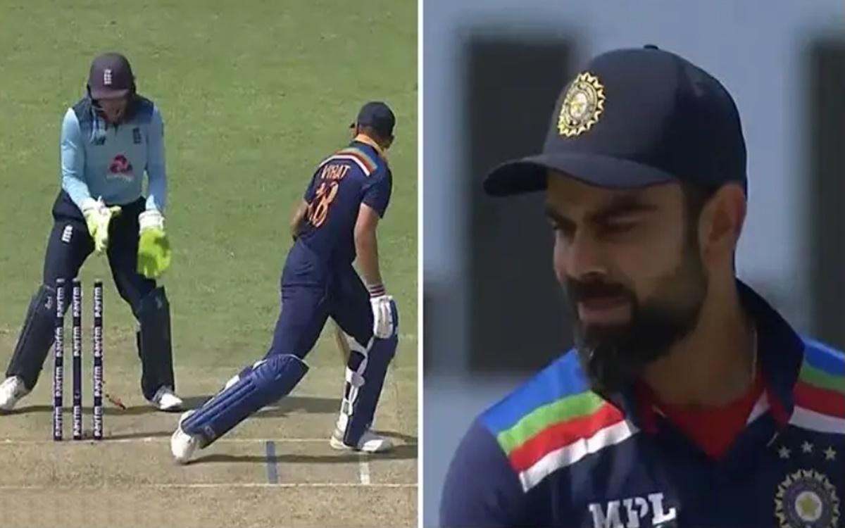 Cricket Image for Twitter Reaction On Virat Kohli Clean Bowled Of Moeen Ali Normal Ball