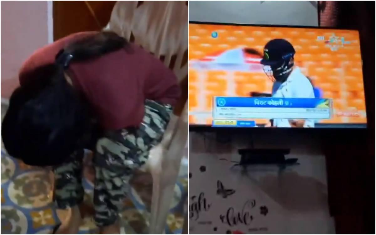 Cricket Image for VIDEO : 'मेरी बहन का रिएक्शन देखो', जब विराट 0 पर हुए आउट तो वायरल हो गया भाई-बहन