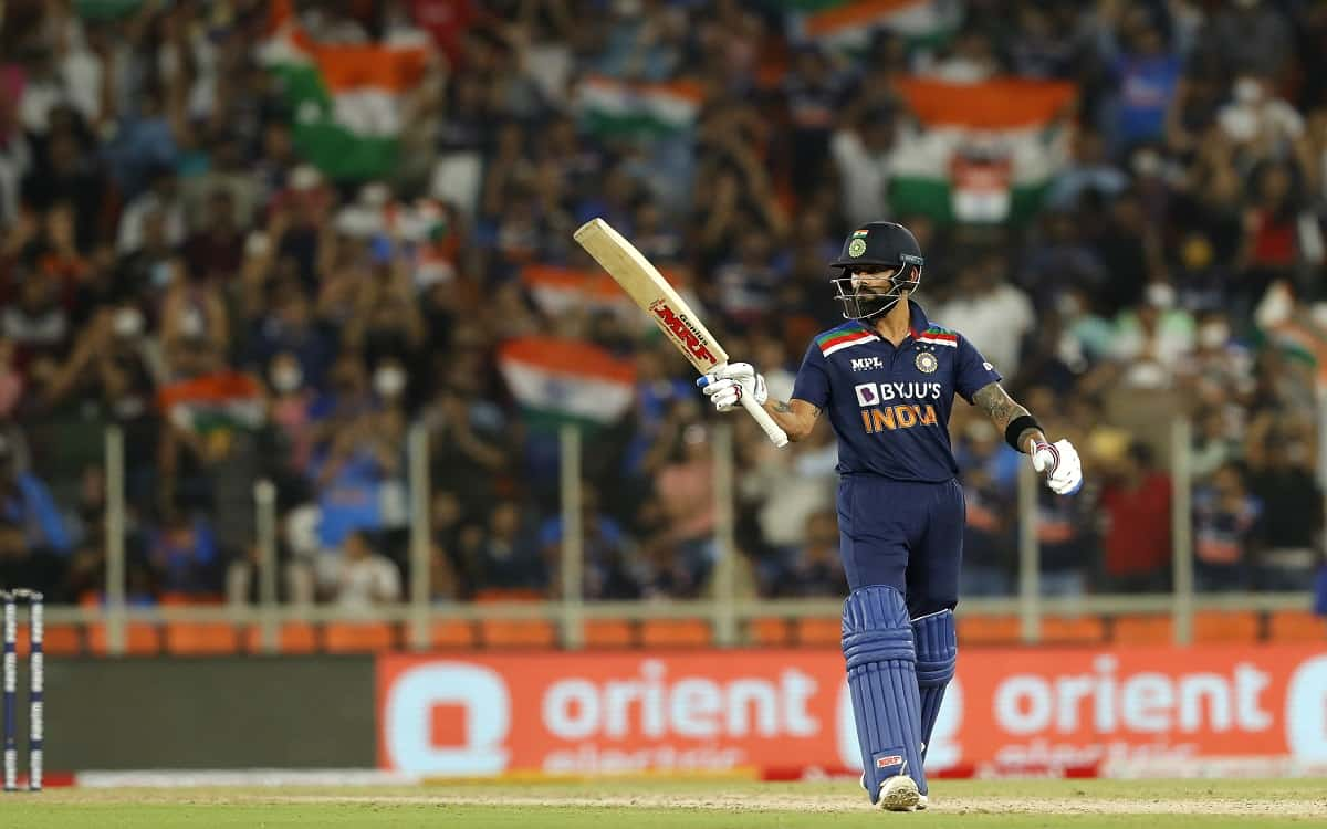 Cricket Image for Virat Kohli Played A Huge Innings Against England On The Advice Of Ab Devilliers