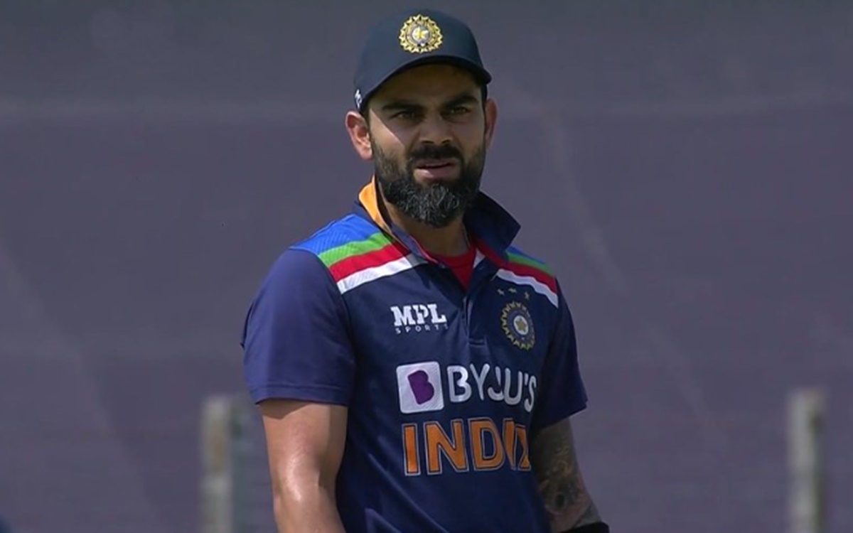 Cricket Image for  Virat Kohli Reaction After He Clean Bowled On Moeen Ali Off Spin Ball