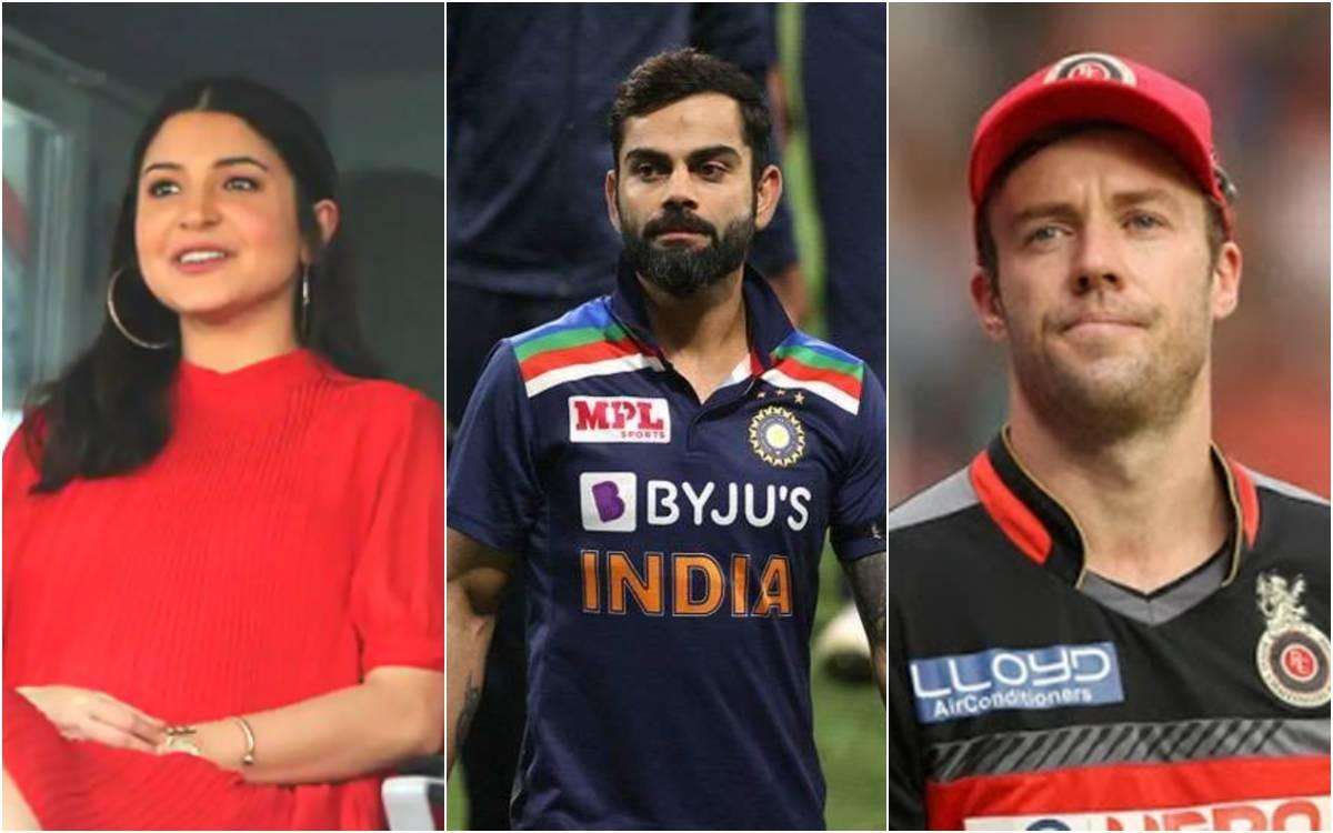 Cricket Image for एबी डीविलियर्स और अनुष्का शर्मा की वजह से फॉर्म में लौटे विराट!, इंग्लैंड की बखिया