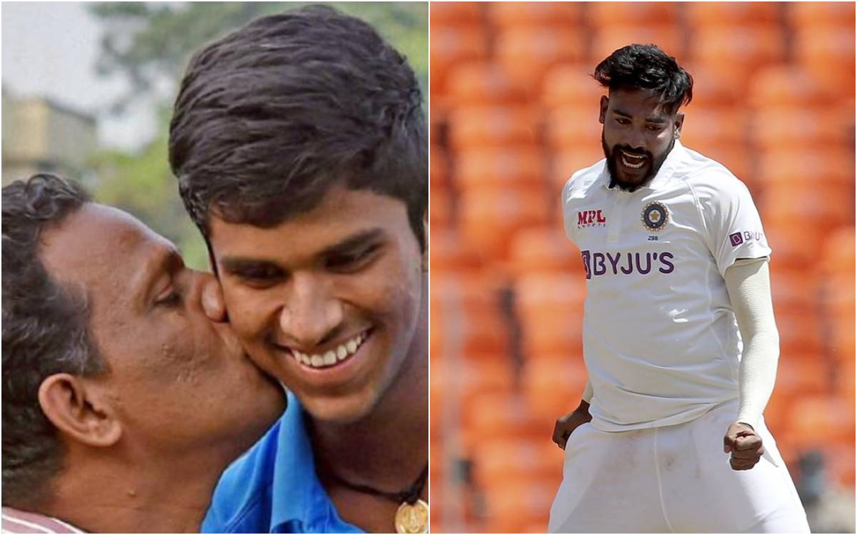 Cricket Image for इशांत और सिराज पर जमकर भड़के सुंदर के पिता, बेटे की सेंचुरी ना होने का अभी भी है म
