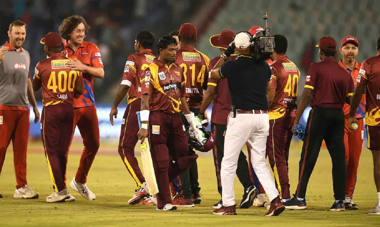 Cricket Image for Road Safety World Series: वेस्टइंडीज ने दर्ज की धमाकेदार जीत,पहले सेमीफाइनल सचिन क