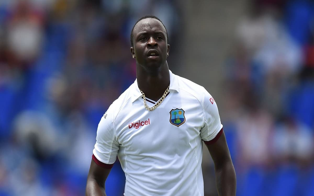 Cricket Image for West Indies Fast Bowler Kemar Roach Signs For Surrey