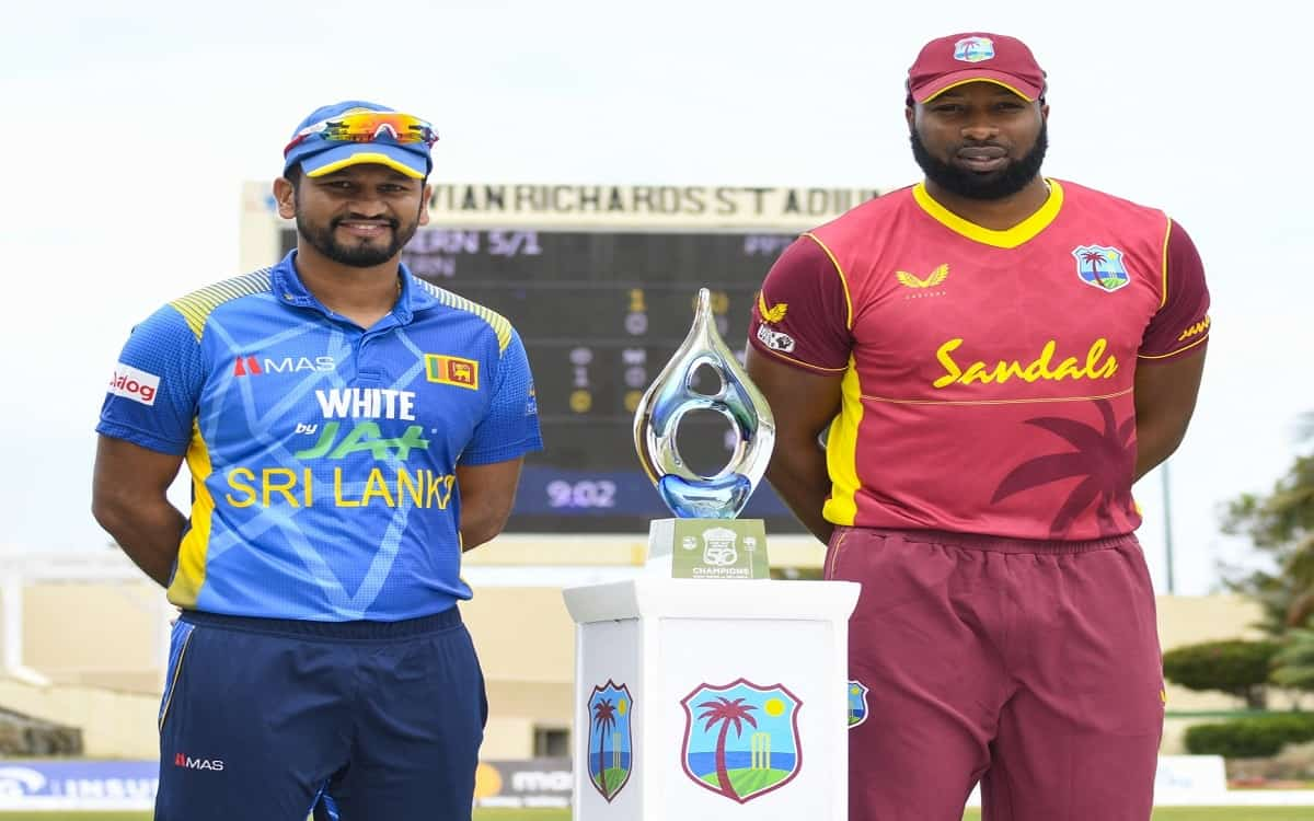 West Indies won the toss in the third ODI against Sri Lanka, the team decided to bowl