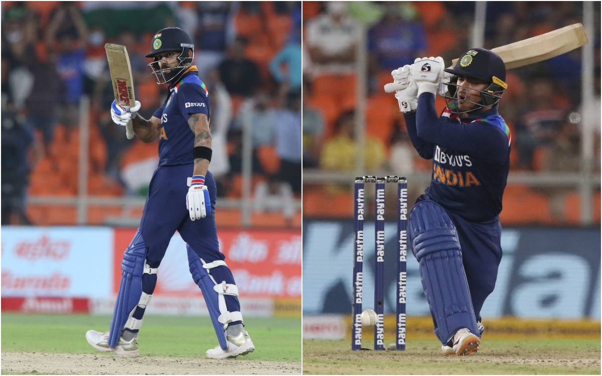 Cricket Image for VIDEO : 'ओये डेब्यू मैच में फिफ्टी मारी है चल चारों तरफ घूमकर बल्ला दिखा', जब बीच