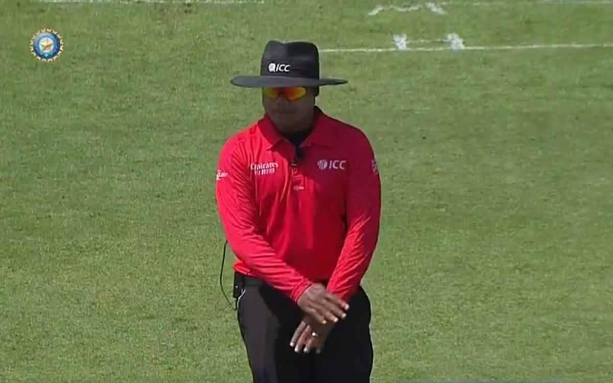 Cricket Image for 'नितिन मेनन के फैसलों पर कभी शक मत करना', जानिए सोशल मीडिया पर क्यों जमकर हो रही ह