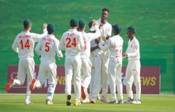 Zimbabwe Bowls Out Afghanistan For 131 In First Test