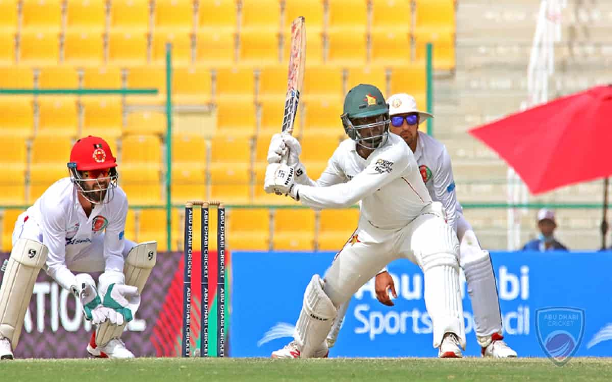 Cricket Image for AFG vs ZIM: Zimbabwe's Williams, Tiripano Defy Afghanistan In Second Test