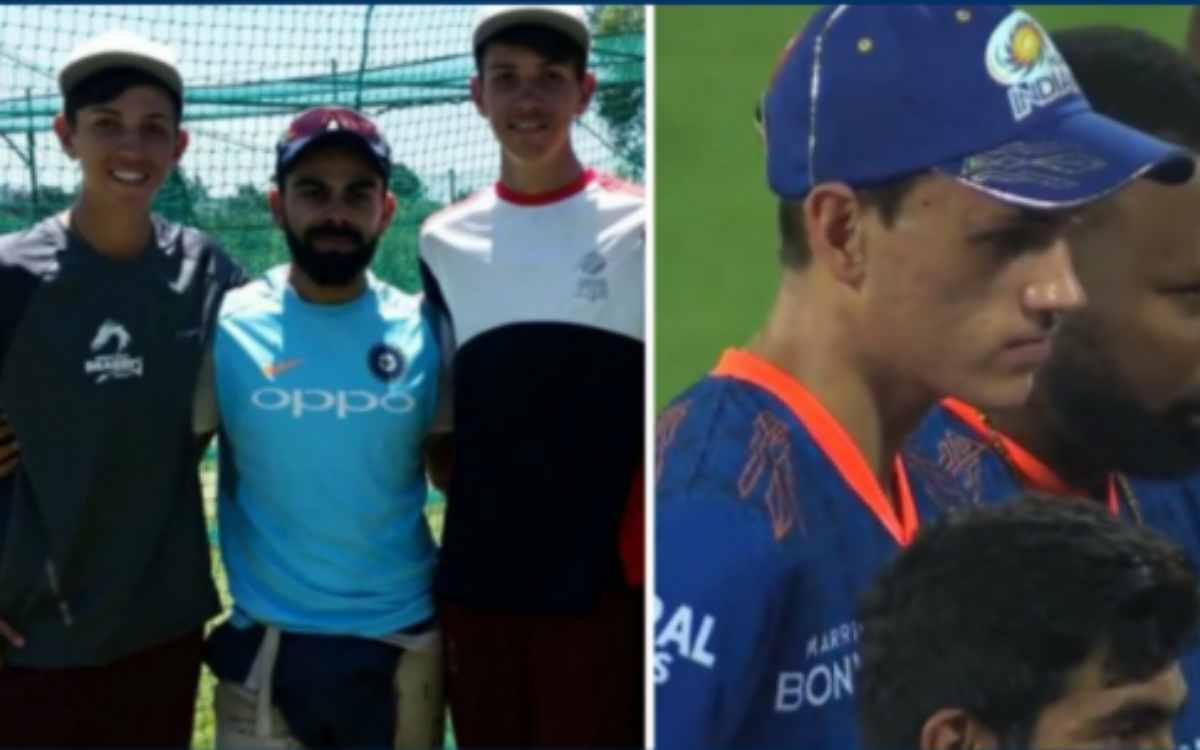 Cricket Image for विराट के खिलाफ रोहित शर्मा ने चली तगड़ी चाल, आखिरी पलों में 6 फीट 8 इंच लंबे ऑलराउ