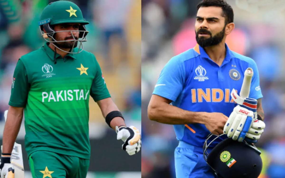 Cricket Image for 'विराट कोहली बाबर आजम को देखकर अपनी तकनीक सुधारें', पूर्व पाकिस्तानी खिलाड़ी के बड