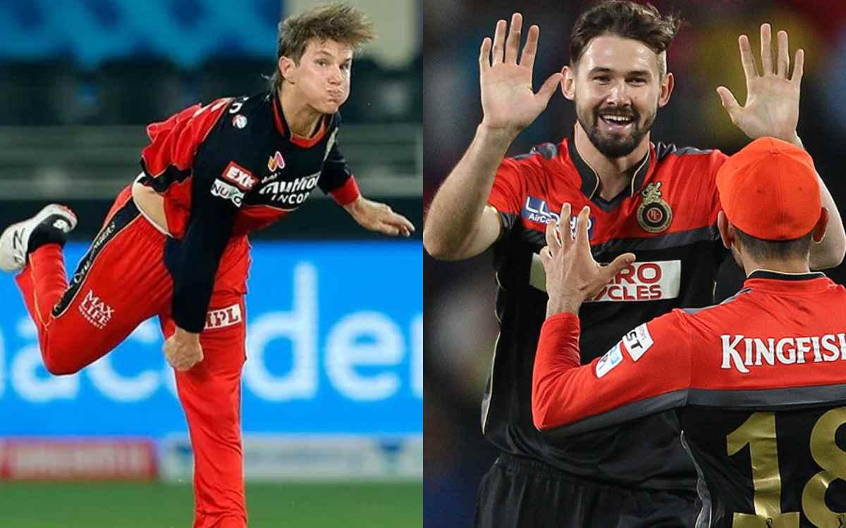Cricket Image for आरसीबी को डबल झटका,एडम जाम्पा-केन रिचर्डसन इस डर के कारण IPL 2021 बीच में छोड़कर ल