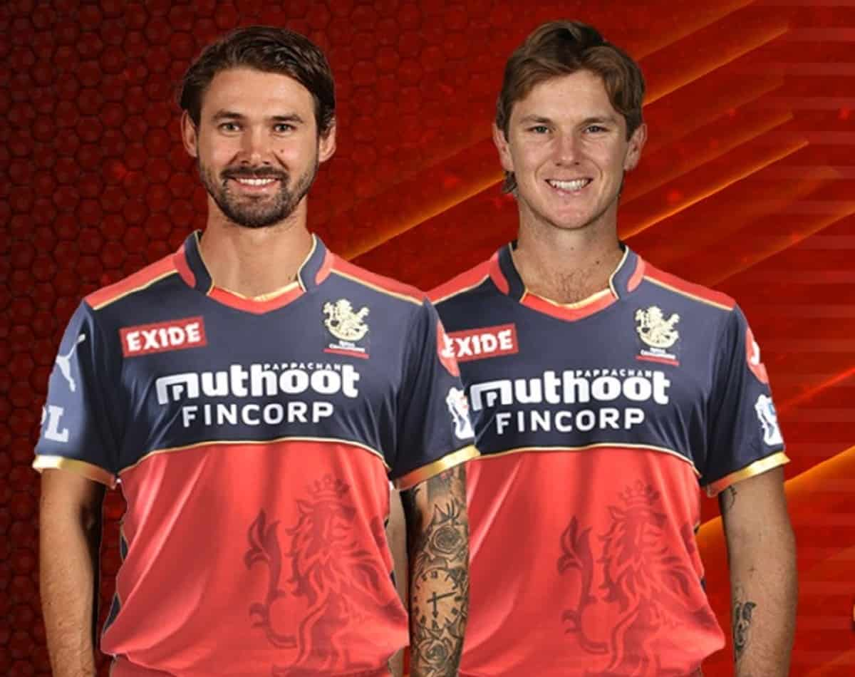 Cricket Image for Adam Zampa And Kane Richardsons Will Go To Australia Via Doha